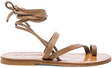 K. Jacques Leather Ellada Sandals