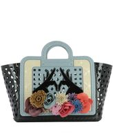 Kartell Multicolor Rubber Handle Bag