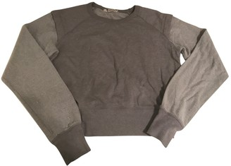 Alexander Wang Grey Cotton Knitwear for Women