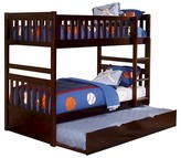 Homelegance Brannan Bunk Bed Twin (Mattress/Trundle not included)