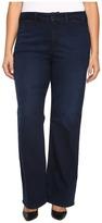 NYDJ Plus Size - Plus Size Isabella Trousers Jeans in Future Fit Denim in Paris Nights Women's Jeans
