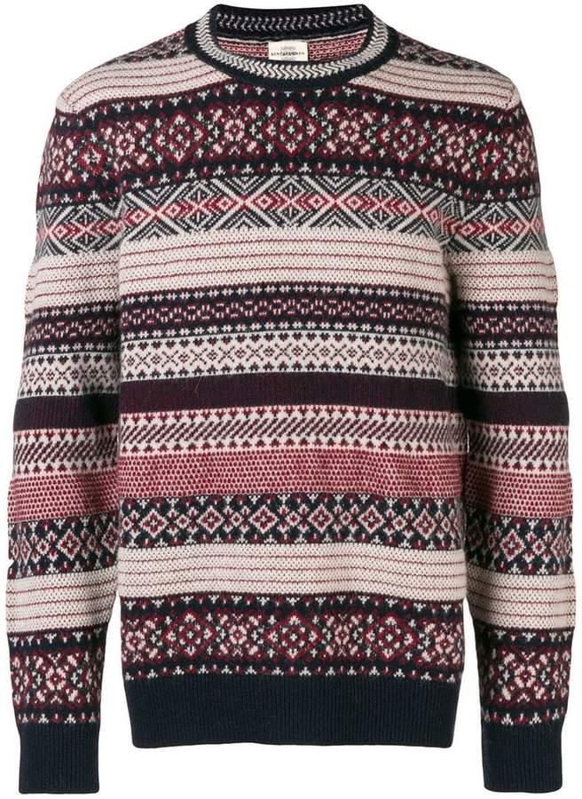 Kent & Curwen striped jumper