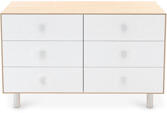 Oeuf Classic 6-Drawer Dresser - White/Natural