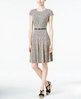 Jessica Howard Petite Printed Fit & Flare Dress