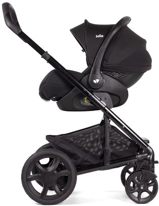Joie i-Level Group 0+ infant Car Seat, Including I-Base LX - Coal