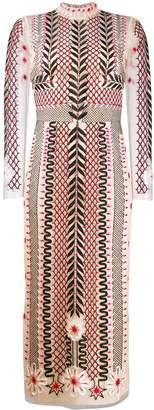 Temperley London teahouse sleeved dress