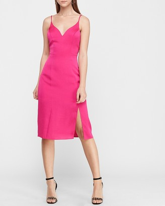 Express V-Neck Slip Dress