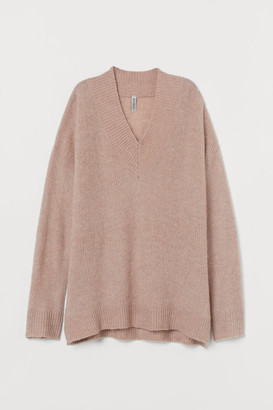 H&M Oversized Sweater - Brown