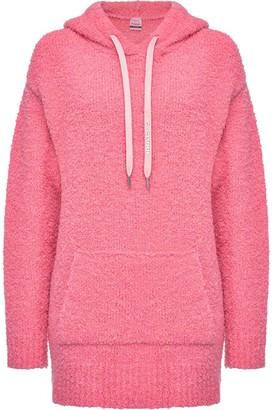 Pinko Textured Long Hoodie