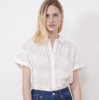 MARIE SIXTINE - SHIRT INAE - cotton   white   XS . - White/White