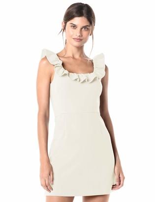 French Connection Women's Whisper Light Ruffle Dress