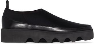 Issey Miyake Bounce chunky slip-on sneakers