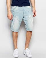 Jack and Jones Light Wash Anti Fit Denim Shorts