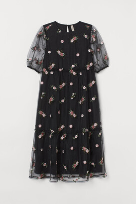 H&M H&M+ Mesh dress