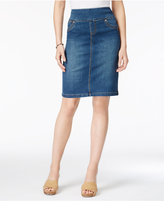 Style&Co. Style & Co Ella Denim Skirt, Only at Macy's