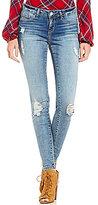 Jessica Simpson Kiss Me Distressed Super Skinny Jeans