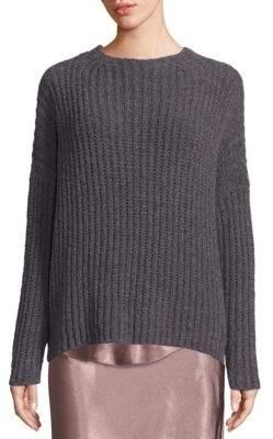 Vince Ladder Stitch Cashmere Blend Sweater