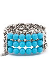 Cara Accessories Multi Chain Bracelet