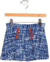 Oscar de la Renta Girls' Tweed Skirt