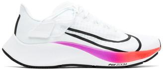 Nike White Air Zoom Pegasus 37 FlyEase Sneakers