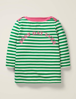 Boden Best Day Ever Stripy Top