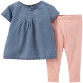 Carter's Baby Girls' 2 Piece Striped Jegging Set (Baby)