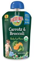 Earth's Best Organic 3.5 oz. Carrots & Broccoli Baby Food Puree