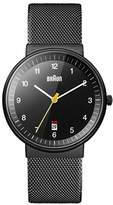 Braun Men's BN0032BKBKMHG Analog Display Analog Quartz Watch
