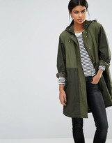 French Connection Milli Canvas Parka Coat
