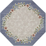 JCPenney Brumlow Romantica Washable Octagonal Rug