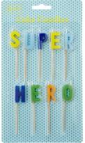 Rice Super Hero Candles
