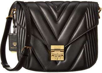 MCM Patricia Quilted Leather Shoulder Bag