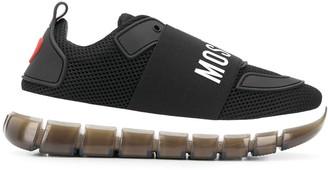 Love Moschino Logo Band Mesh Sneakers