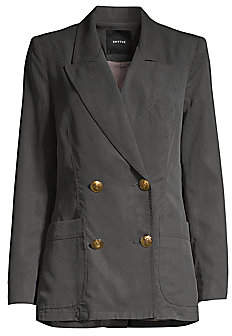 Smythe Women's Unstructured Double Breasted Blazer
