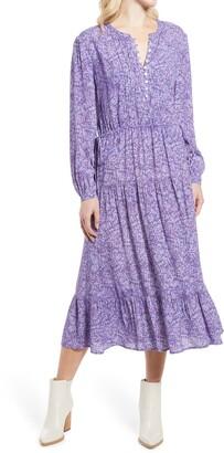 Esme Floral Long Sleeve Dress