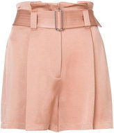 A.L.C. belted shorts - women - Acetate/Viscose - 2