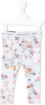 John Galliano star print leggings - kids - Cotton/Spandex/Elastane - 12 mth
