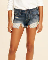 Hollister Low-Rise Denim Vintage Shorts