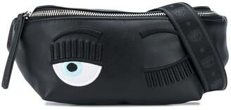 Chiara Ferragni Flirting embroidered belt bag