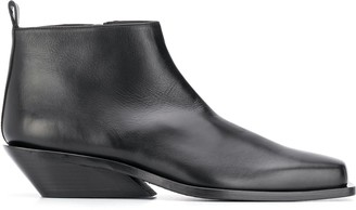 Ann Demeulemeester Wedge-Heel Ankle Boots