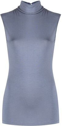 Styland High-Neck Sleeveless Top