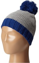 San Diego Hat Company Kids - KNK3449 Knit Beanie with Contrast Pom Pom and Cuff Beanies
