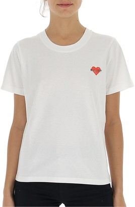 Philosophy di Lorenzo Serafini Motif Embroidered T-Shirt