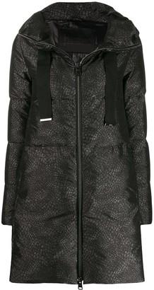 Herno Snake Print Padded Jacket