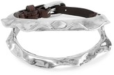 Uno de 50 Spike Leather Bracelet