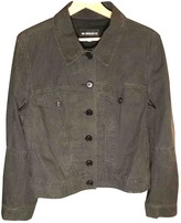 Ann Demeulemeester Anthracite Cotton Jacket for Women