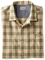L.L. Bean Men's Lightweight Camp Shirt, Slightly Fitted Short-Sleeve