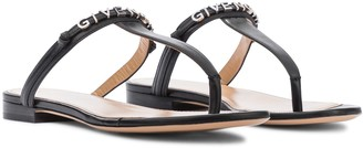 Givenchy Elba leather thong sandals