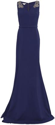 Antonio Berardi Embellished Cady Gown