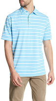 Peter Millar Sean Martin Stripe Mesh Polo